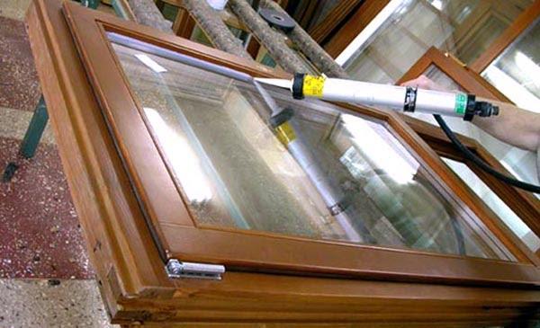 Герметизация стеклопакетов