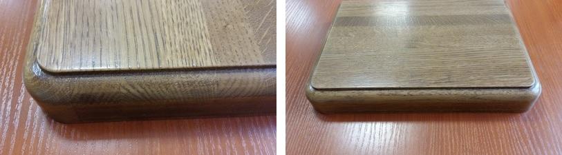 деревянные подоконники с кантом